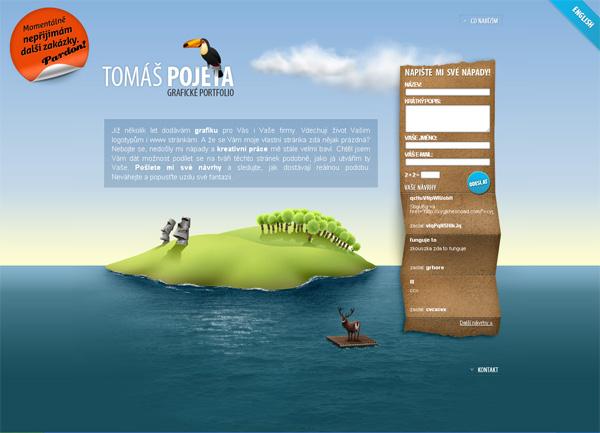 Легкий дизайн для сайта