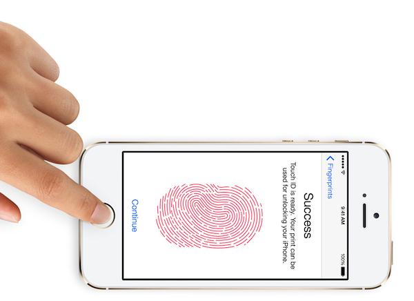Как сделать блокировку с пальца айфон 5s