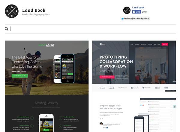 Land Book – галерея красивых лендингов (Landing Page) - «Дизайны сайтов»