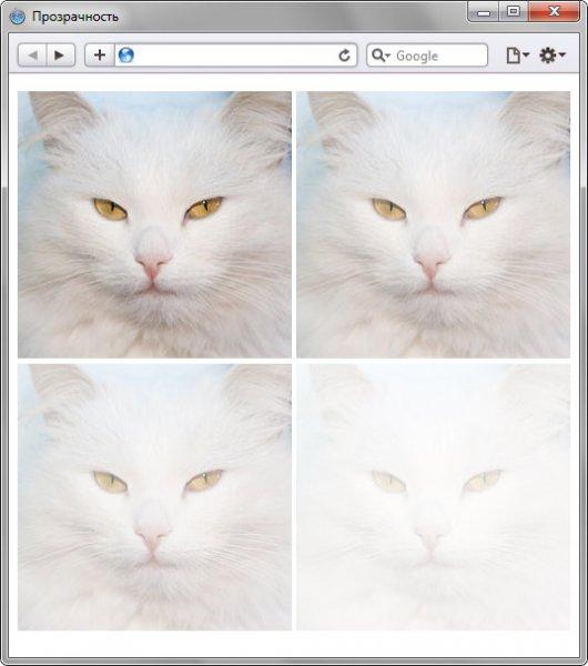 Сделать изображение полупрозрачным - «Изображения»