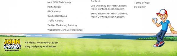 16 оригинальных и креативных футеров - «Дизайны сайтов»