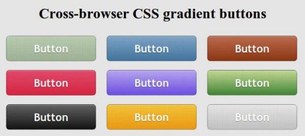 Делаем градиентные кнопки средствами CSS3 - «Верстка»
