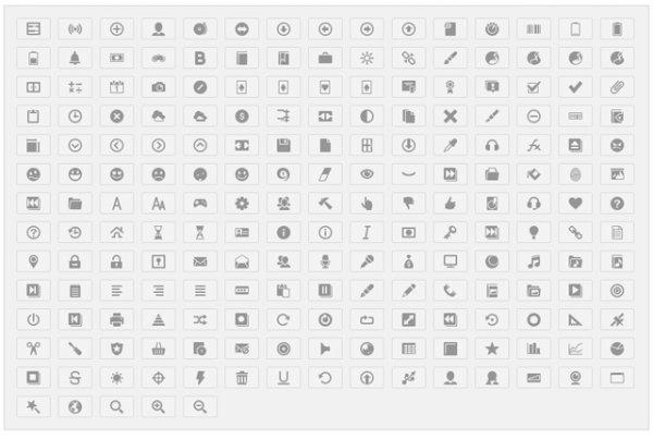 Кнопки в стиле Google+, скачать 200 иконок Google+ - «Верстка»