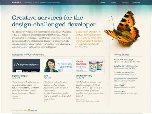 Сила редизайна на примерах - «Дизайны сайтов»