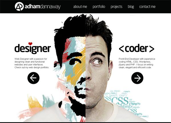 """Тренд веб-дизайна """"фотофон"""" – крупные изображения для бэкграунда - «Дизайны сайтов»"""