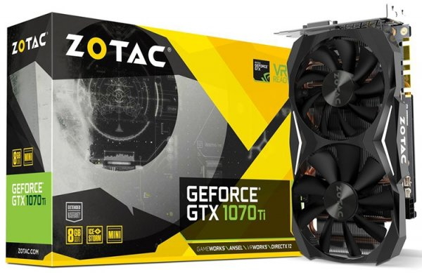 От мала до велика: трио видеокарт ZOTAC GeForce GTX 1070 Ti - «Новости сети»