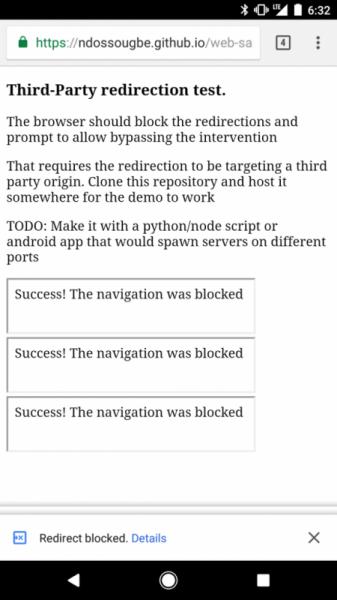 Блокировка открытия нежелательных вкладок от Google Chrome - «Интернет»