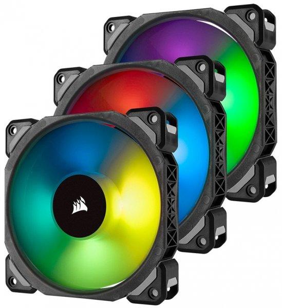 Corsair ML PRO RGB: корпусные вентиляторы с технологией магнитной левитации - «Новости сети»