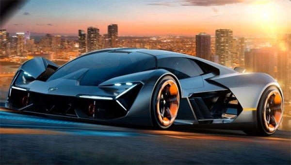 Фото дня: концептуальный электрический суперкар Lamborghini Terzo Millennio - «Новости сети»