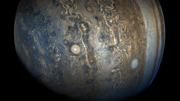 Фото дня: пристальный взгляд на южное полушарие Юпитера - «Новости сети»