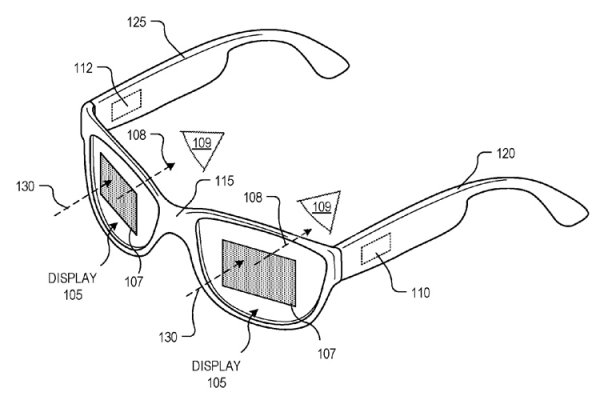 Google патентует «умные» очки с новой конструкцией - «Новости сети»