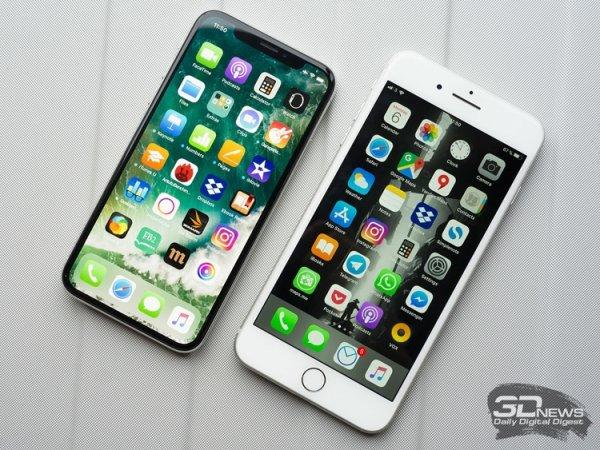 iPhone X не смог стать лучшим камерофоном в рейтинге DxOMark - «Новости сети»