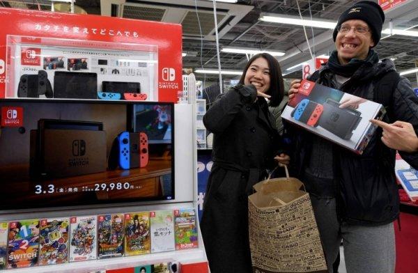 Nintendo собралась увеличить производство игровых консолей Switch - «Новости сети»