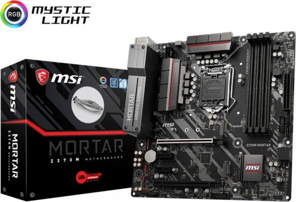 Плата MSI Z370M Mortar позволяет создать компактный ПК на базе Intel Coffee Lake - «Новости сети»
