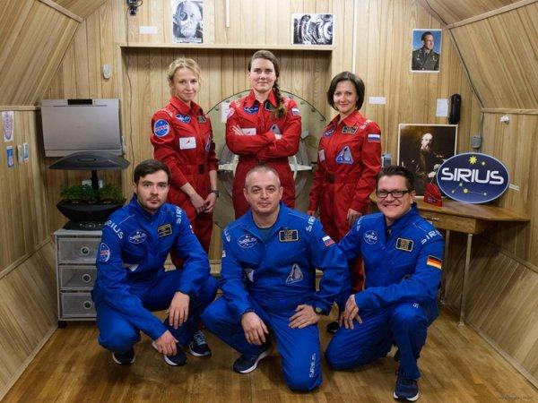 В Москве стартовал проект SIRIUS-17 по имитации полёта к Луне - «Новости сети»