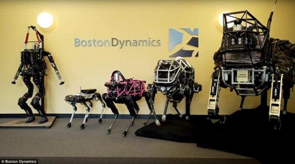 Видео дня: робот Boston Dynamics Atlas делает обратное сальто - «Новости сети»