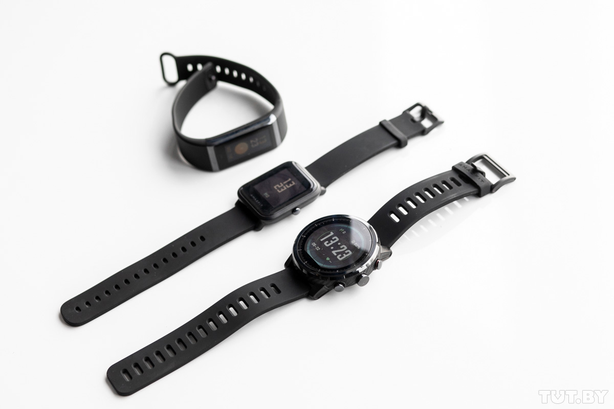47ba8e48 К нам на тест пришли три устройства, с которых Huami начала покорять рынок  Беларуси — фитнес-браслет Amazfit Cor, смарт-часы Amazfit Bip и Stratos.