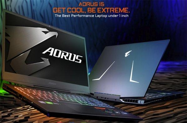 All Intel Inside: новый игровой лэптоп Aorus 15 получил чип Coffee Lake-H Refresh - «Новости сети»