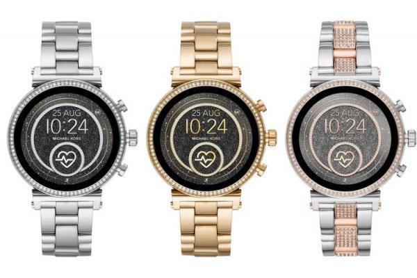 Обновлённые смарт-часы Sofie от Michael Kors оценены в $325 - «Новости сети»