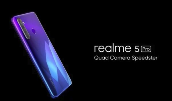 Экран Full HD+ Dewdrop и 48-Мп камера: дебют смартфона Realme 5 Pro - «Новости сети»