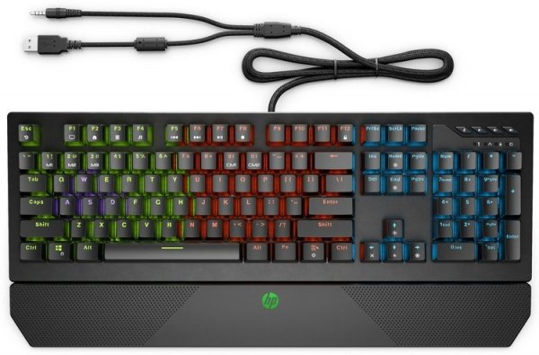 HP представила игровые механические клавиатуры Omen Encoder и Pavilion Gaming Keyboard 800 - «Новости сети»
