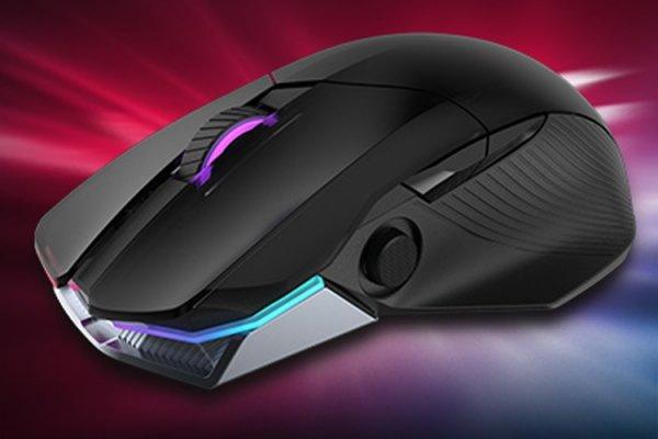 Игровая мышь ASUS ROG Chakram поддерживает беспроводную подзарядку Qi - «Новости сети»