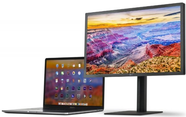 LG представила монитор UltraFine формата 5K - «Новости сети»
