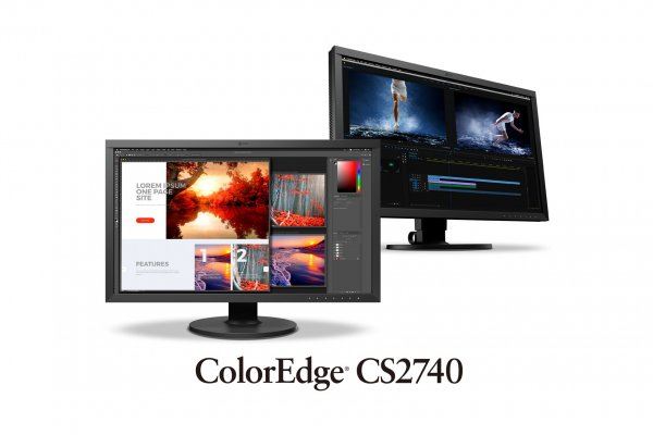 "Eizo представила 27"" монитор 4K ColorEdge CS2740 с разъемом USB-C и 10-бит палитрой - «Новости сети»"