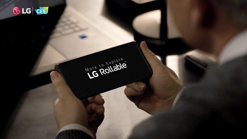 Стало известно, когда LG выпустит сгибающийся «смартфон-рулон» - «Интернет и связь»